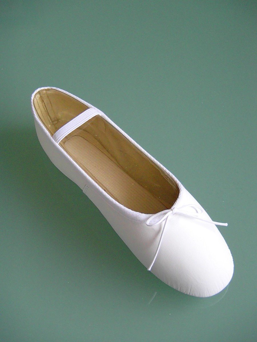 White Tap Shoes For Adults
